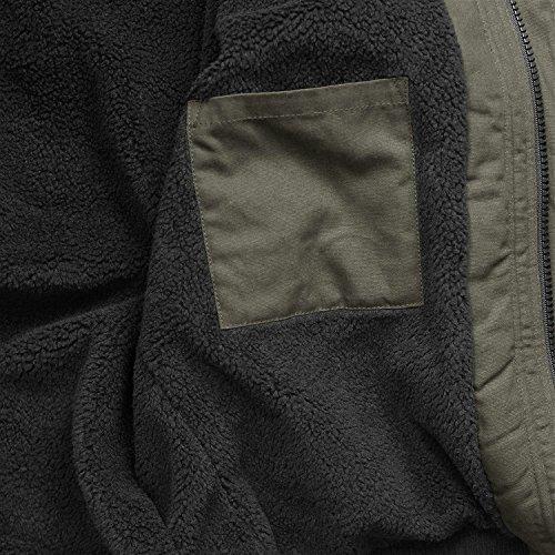 Basic Giacca Maniche Lunghe Camicia Brandit Uomo Olive BwEqPwCHx