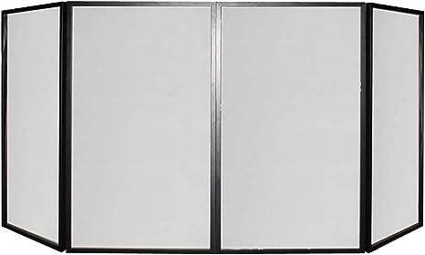 Cubierta plegable para mesa de DJ, pantalla para barra y pulso, 280 x 120 cm, 4 piezas: Amazon.es: Instrumentos musicales