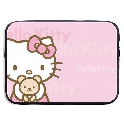 size 40 90c48 7c56d Amazon.com: CHLING Hello Kitty Neoprene Laptop Sleeve Case Bag Cover ...