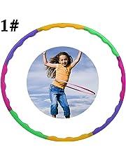 Joyibay Sport Hoop Detachable Creative Workout Hoop Exercise Hoop Dance Hoop for Kids