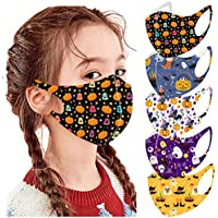 5-Pack Guo Nuoen Halloween Reusable Vintage Face Mask