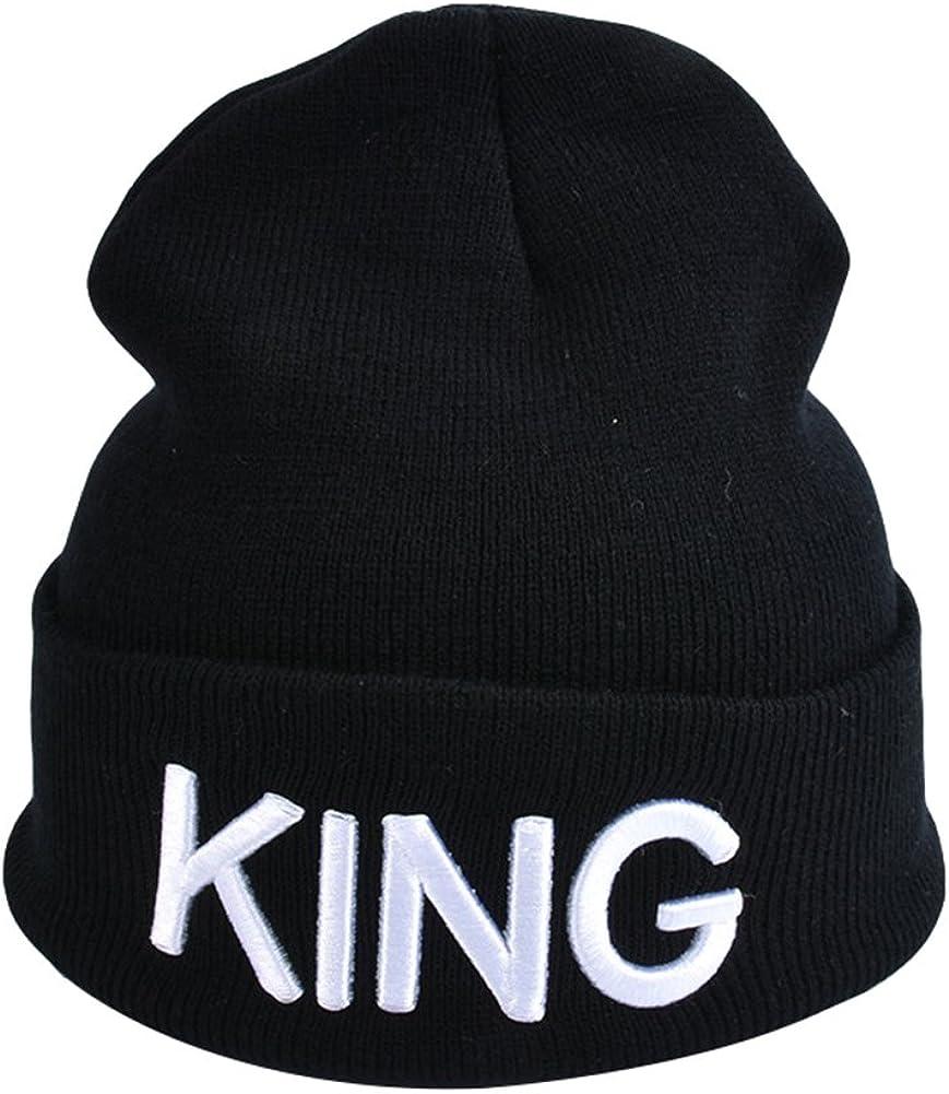 Winter Warm Hats King Queen...