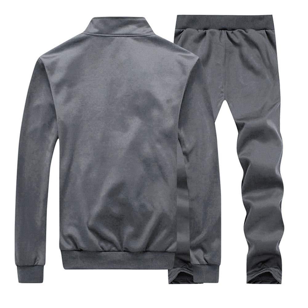 Manluodanni Ensemble Surv/êtement Homme Pantalon Sweat Jogging 2019 Set