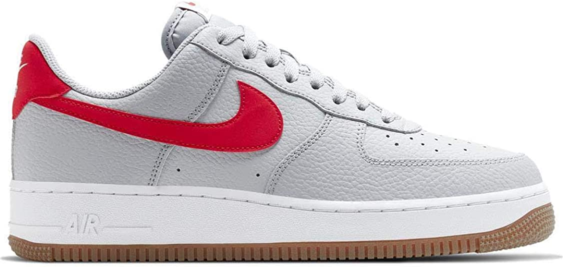 air force 1 blanche rouge homme