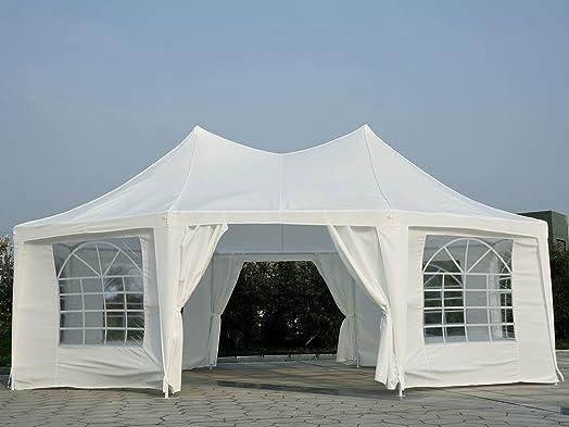 BC Elec 5300 0010 Pavilion 68x5 m Octagonal Garden Gazebo Party Tent Garden Tent & BC Elec 5300 0010 Pavilion 68x5 m Octagonal Garden Gazebo Party ...