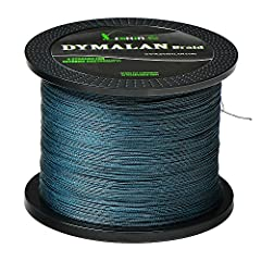 ·Dedicated to offer professional fishing lines for over 10 years as a manufacturer. DYMALAN Braid is created to offer top quality fishing lines with the best competitive price for every Angler. ·DYMALAN Braid is a specially engineered 4 &amp...