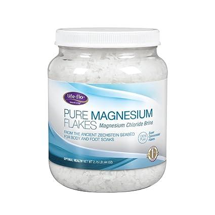 Life-Flo Health Care Living Pure Magnesium Flakes, 44 Ounce
