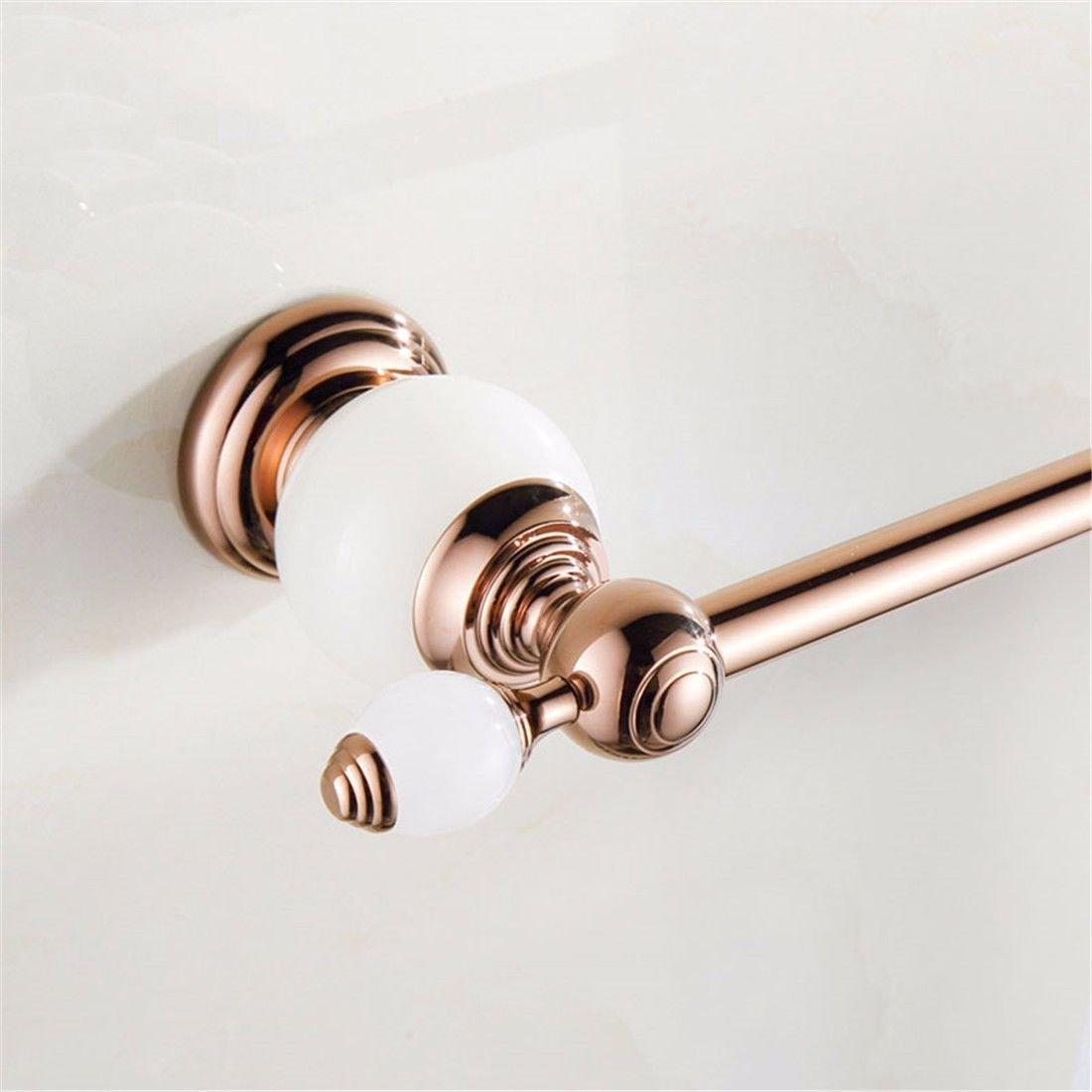 Hlluya Toallero El Jade Oro Oro Oro Rosa Juego de Accesorios de baño Toalla toallero Anillo, Sola Taza 7439a8