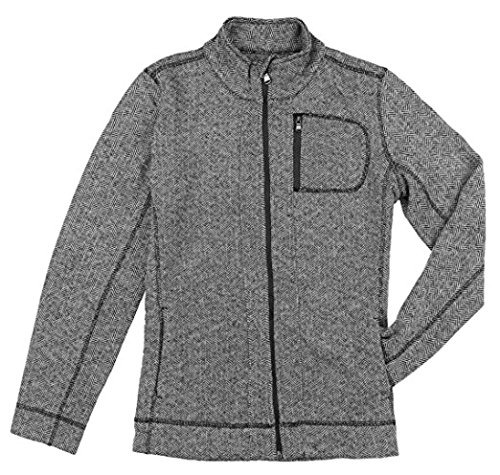 andrew-marc-new-york-performance-womens-knit-jacket-m-black-white-herringbone