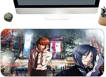 Alfrombrillas de ratón para Gamers Anime Naruto Haruno Sakura Base De Goma Antideslizante Bordes Cosidos Tapete De Mesa De Gran Tamaño Jugador De Juegos Talla A: Amazon.es: Electrónica