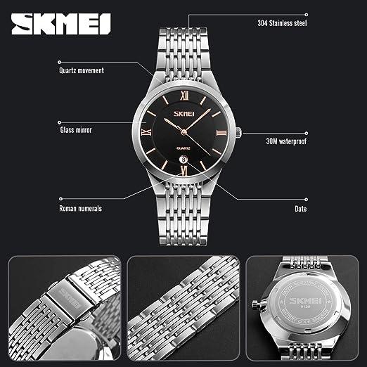 Amazon.com: Lovers Watches - Brand Lovers Quartz Wrist Watch Men Women Couples Watches Female Clock Man Quartz-Watch Montre Femme Relogio Feminino - by ...