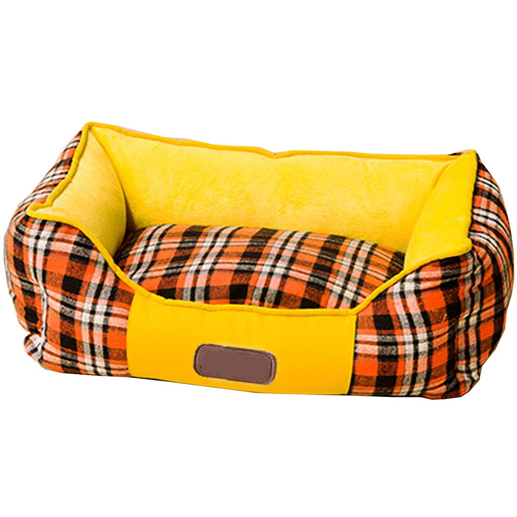 ZHAORU Morbido Caldo Pet Dog Cat Bed Casa Peluche Accogliente Nido Mat Pad Cushion Cave
