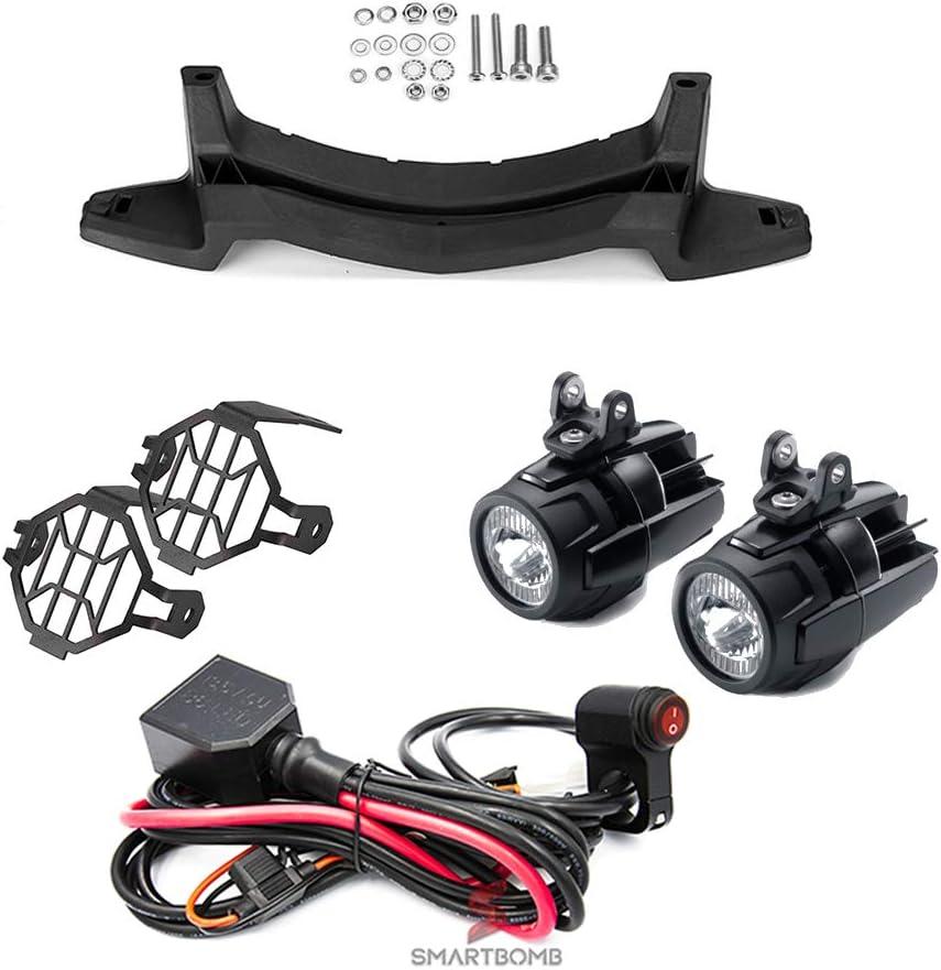 Verdrahtung steuereinheit z/ündung 2 st/ücke Zus/ätzliche scheinwerfer LED 40 watt E9 Halterung R 1200 GS LC ADV 2013-2018 R 1250 GS 2019 LC Standard