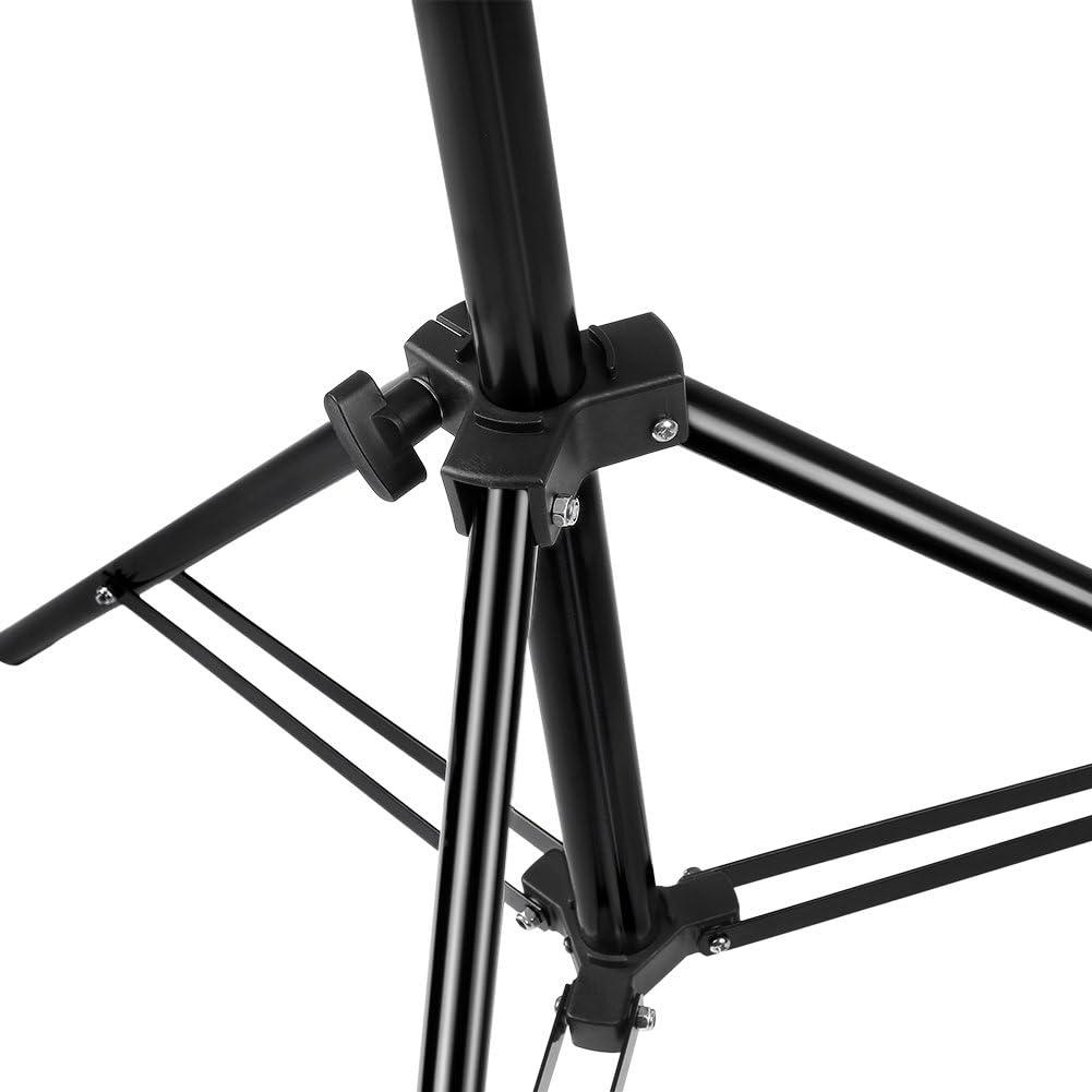 3 S/ätze Portrait-Fotografie-Beleuchtung Softboxes und Schirme Reflektoren Neewer 28-83 Zoll Justierbare Aluminiumlegierung-Lampenstativ mit haltbaren Tragetasche f/ür Video-