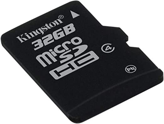 Kingston SDC4/32GBSP - Tarjeta microSD de 32 GB Clase 4 sin Adaptador: Amazon.es: Informática