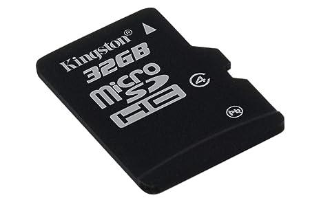 Kingston SDC4/32GBSP - Tarjeta microSD de 32 GB Clase 4 sin ...