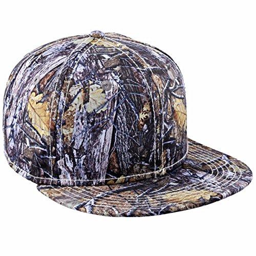 squaregarden Snapback Hats,Flat Bill Adjustable Trucker Hat Baseball Cap Bill Adjustable Baseball Hat