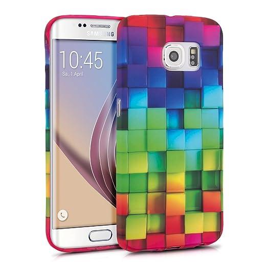 5 opinioni per kwmobile Cover per Samsung Galaxy S6 Edge- Custodia in silicone TPU- Back case