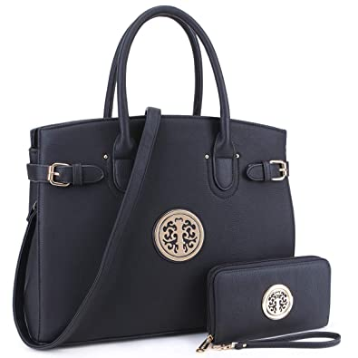 63eb9b0f8e2 DASEIN Women Purses and Handbags Shoulder Bags Ladies Tote Bags Satchel  with Wallet