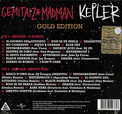 Gemitaiz Madman Kepler Gold Edition Amazon Com Music