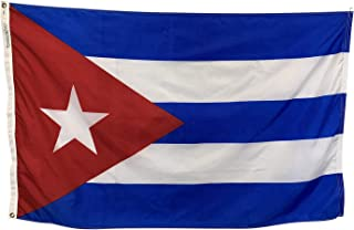 product image for 2x3' Cuba Flag - All Weather Nylon & Reinforced Fly End Stitching - Made in USA
