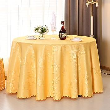 JIANFEI Runde Tischdecke Tischtuch Tischwäsche Gute Qualität Hohe Dichte  Stoff 9 Größe, 5 Farben (
