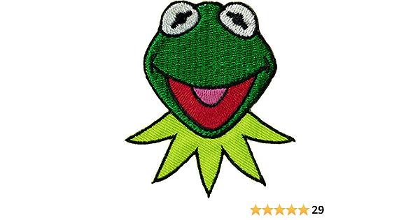 Kermit Iron on Patch Muppets