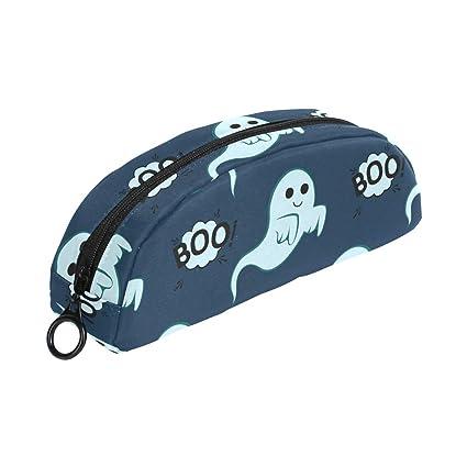 Estuche para lápices de fantasmas de Halloween, con cremallera ...