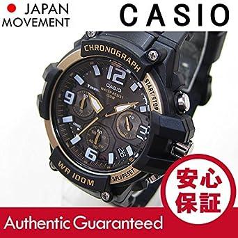 4150178c11 Amazon   CASIO (カシオ) MCW-100H-9A2/MCW100H-9A2 クロノグラフ ...