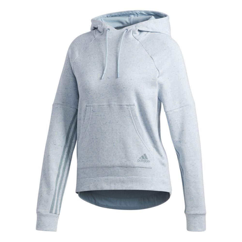 Adidas Apparel Women S2S Po Hoody, Ash Grey-Ash Grey, S