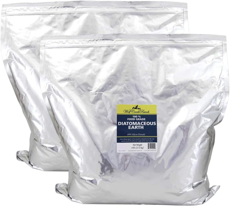 Food Grade Diatomaceous Earth – 12 Lb bag For Human & Pet Use. Effective Multipurpose for Internal and External Organic Use Hundreds of Uses for Health & Cleaning for You, Your Pets, Your Home