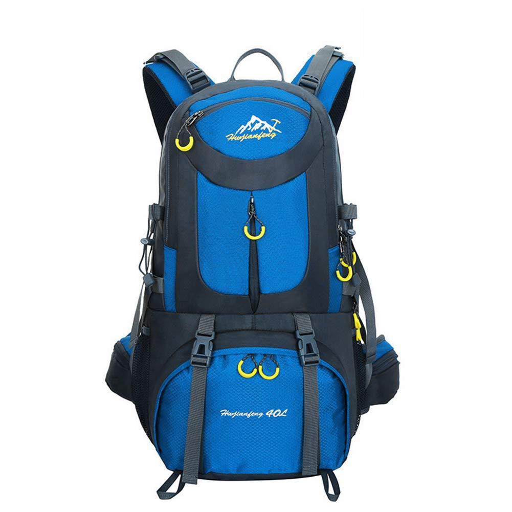40L/50L/60/登山 リュック 大容量 防水 軽量 多機能 リュック 背中旅行 登山用リュックアウトドア 登山 バックパックバックパックアウトドア登山リュックサックスポーツ登山バッグト0541 50L Blue B07P3LBJR7