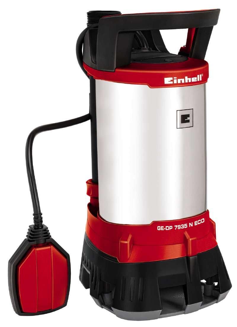 Einhell 4170700 Bomba Sumergible Aguas SUCIAS RG-DP 1135 N, 230 V, Negro, Rojo GE-DP 7935 N ECO expert pro profesional