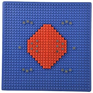 Acupressure Health Care System Acp Super Power Mat I (30 Cm X 30 Cm, Multicolor)
