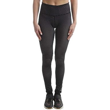 Reebok - Crosswalk líneas Yoga Fitness Athletic Leggings ...