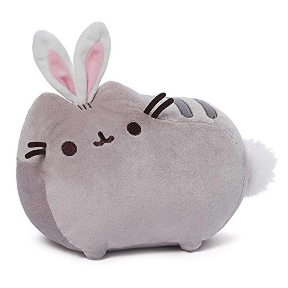 GUND Pusheen Cat as Bunny Rabbit Plush Stuffed Animal Collectible 10'' x 7'' by GUND