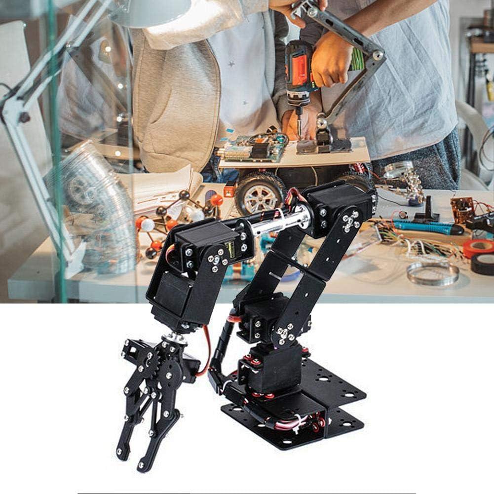 Neufday Brazo mecánico, Robot 6DOF Abrazadera de Brazo mecánico Kit de Garras Manipulador DOF Piezas de Robot Industrial: Amazon.es: Hogar