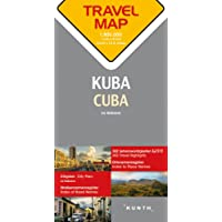Reisekarte Kuba 1:800.000: Travel Map Cuba