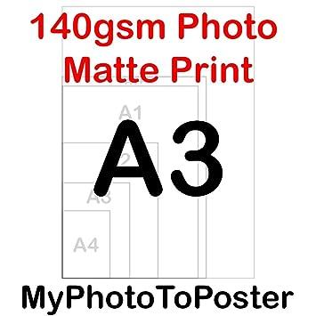9c8a2ec5cb A3 A2 A1 A1+ A0 140GSM Poster Printing Service Custom Wall Art 100%  Positive Reviews