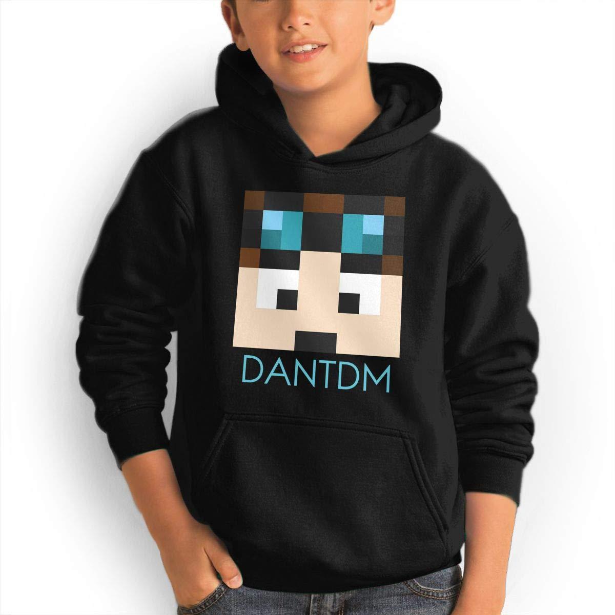 BlingJJ DanTDM Face Cotton Sweatshirt for Teen