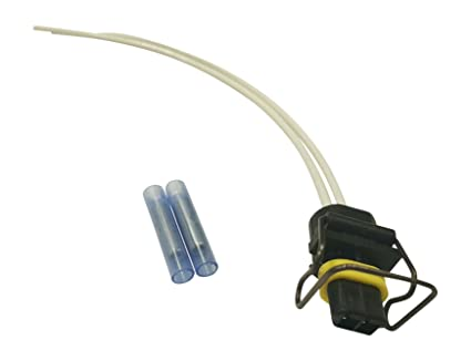 61KXA%2BMQbQL._SX425_ amazon com muzzys 2 wire pigtail connector ford 6 0l 6 7l 7 3l