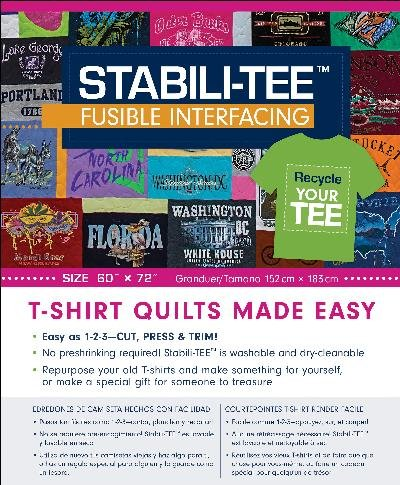 STABILI-TEE 20363 Fusible Interfacing Pack 60