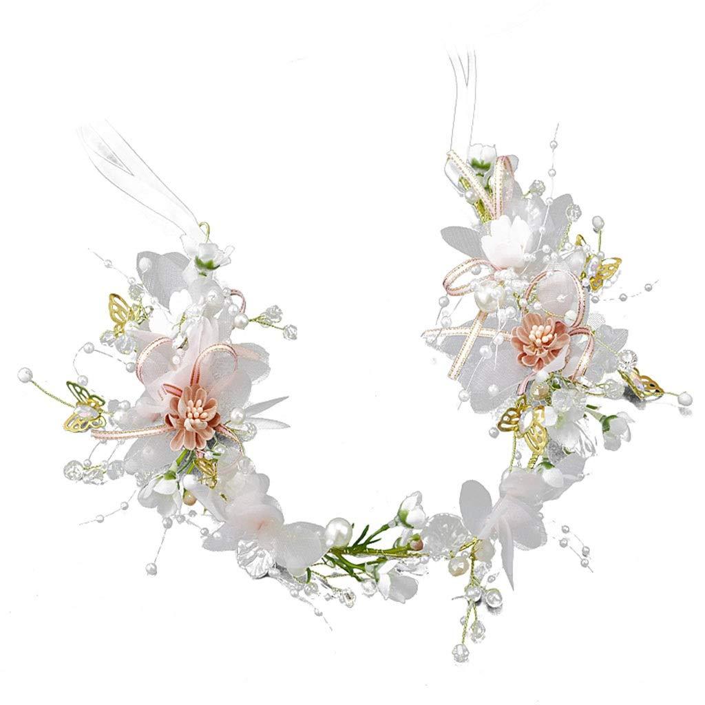 Wreath Flower Girl Headdress Flower Headband Original Wedding Bride Hair Accessories