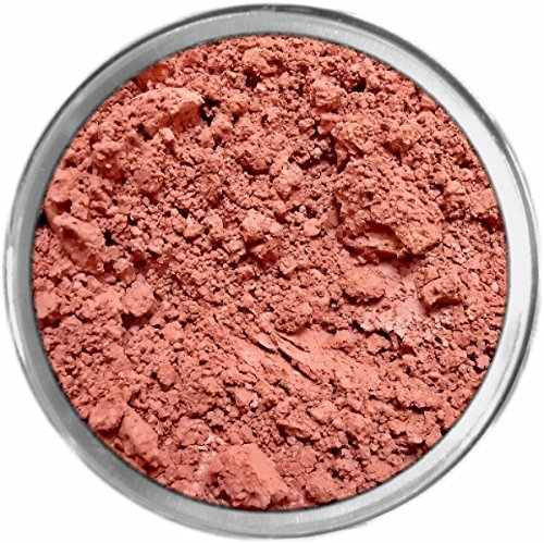 Poinsettia Loose Powder Mineral Matte Multi Use Eyes Face Color Makeup Bare Earth Pigment Minerals Make Up Cosmetics By MAD Minerals Cruelty Free - 10 Gram Sized Sifter Jar (Poinsettia Pearl)