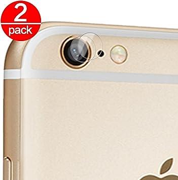 2X Cristal Templado para Lente Cámara de iPhone 6 Plus/6S Plus ...