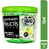 Garnier Fructis Style Gel Hard Tarro, 600 gr