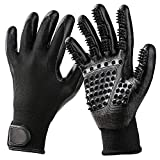 Large Pet Grooming Glove Gentle De-Shedding Brush for Horses Dogs Cats Livestock Small Pets