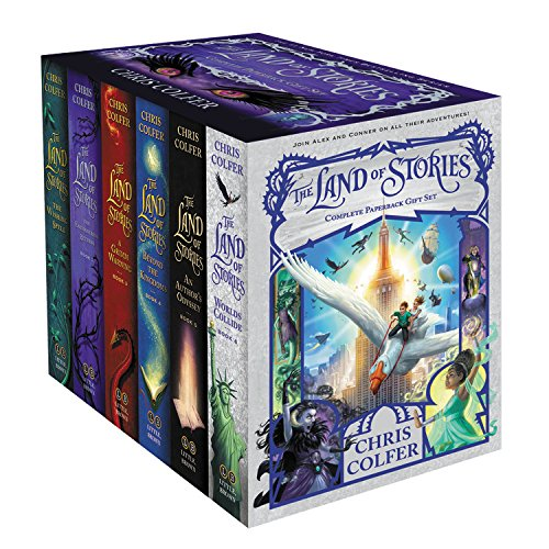 World Twin Hugger - The Land of Stories Complete Paperback Gift Set