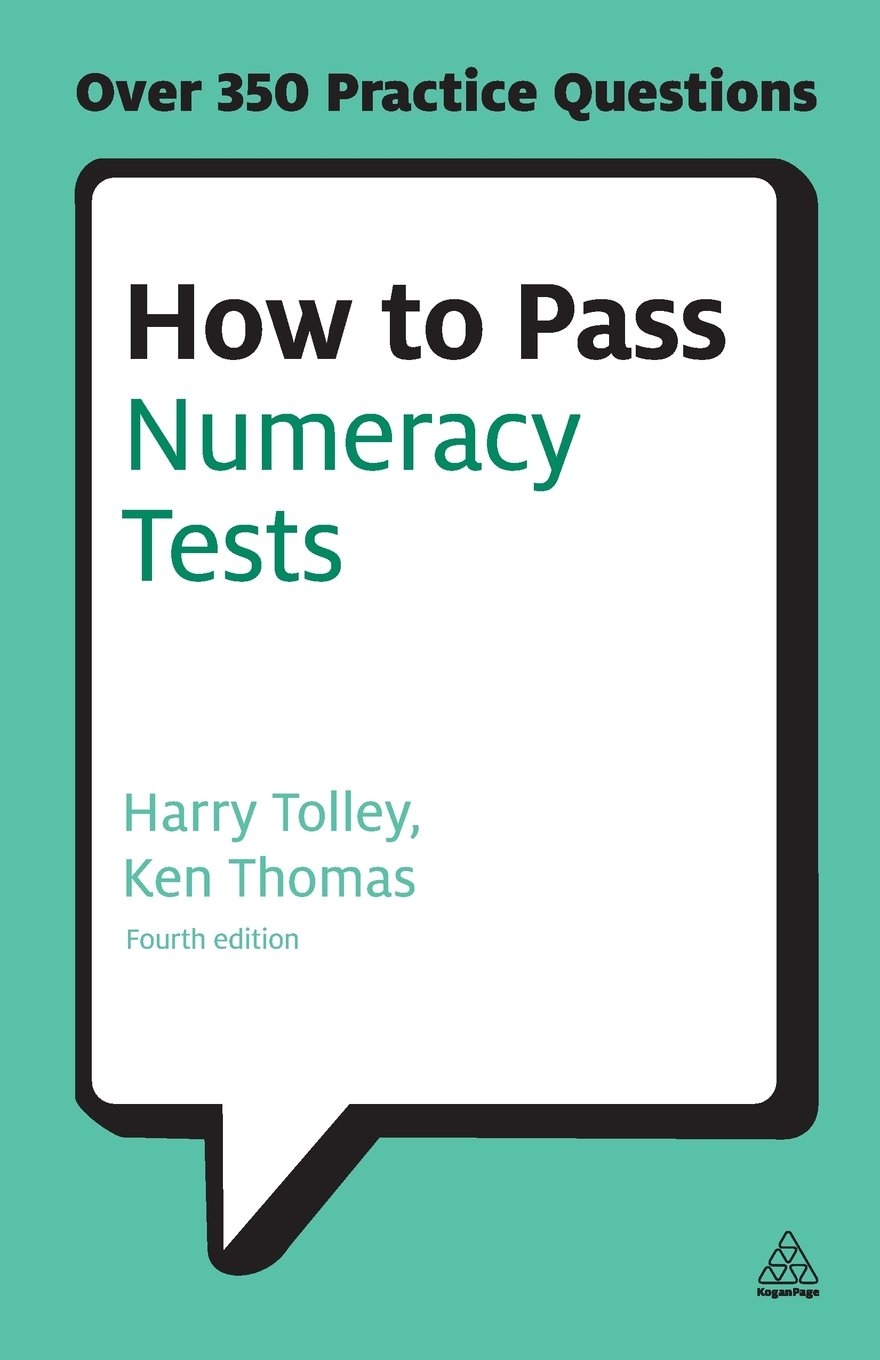 How to pass numeracy tests test your knowledge of number problems data interpretation tests