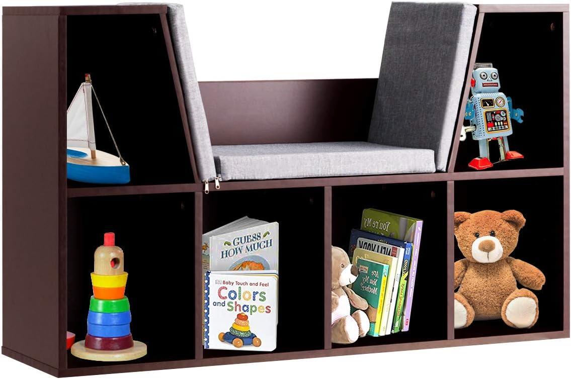 HONEY JOY 6 Cubby Kids Bookcase
